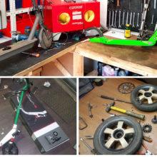 Какие бренды электросамокатов ремонтируем?